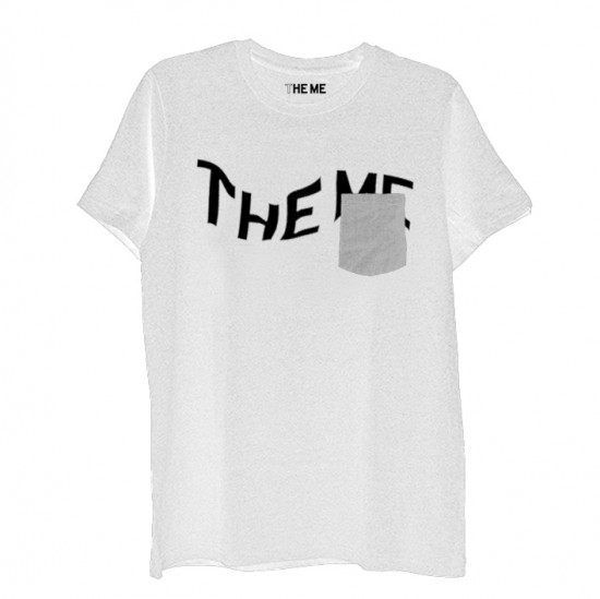 THE ME POCKET T grey